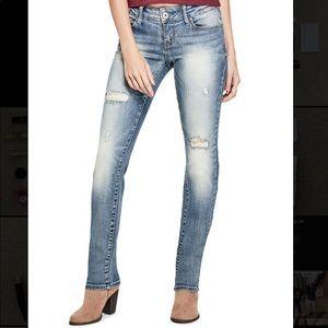 GUESS Women's Jeans Medium Rise Skinny Sarah Fit